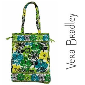 Vera Bradley Limes Up Padded Computer Tote